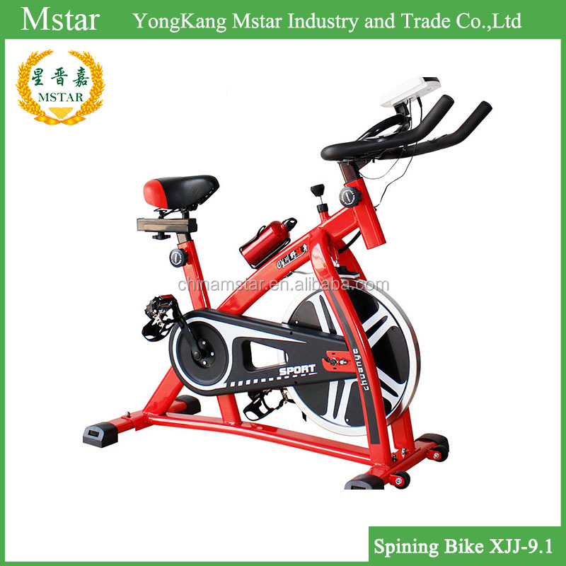 Deluxe commercial racing spin bike for sale