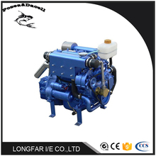 33HP water-cooled small marine inboard diesel engine inboard jet engine