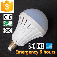 PC cover 3 to 4 hrs emergency lighting time 4W remote control rechargeable LED bulb
