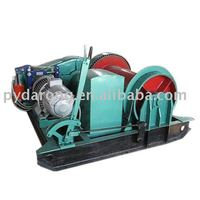 manual brake winch for mine, construction, port