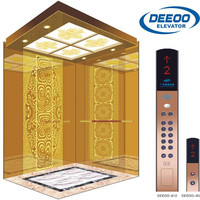 fashion safety high technology german best noiseless elevator