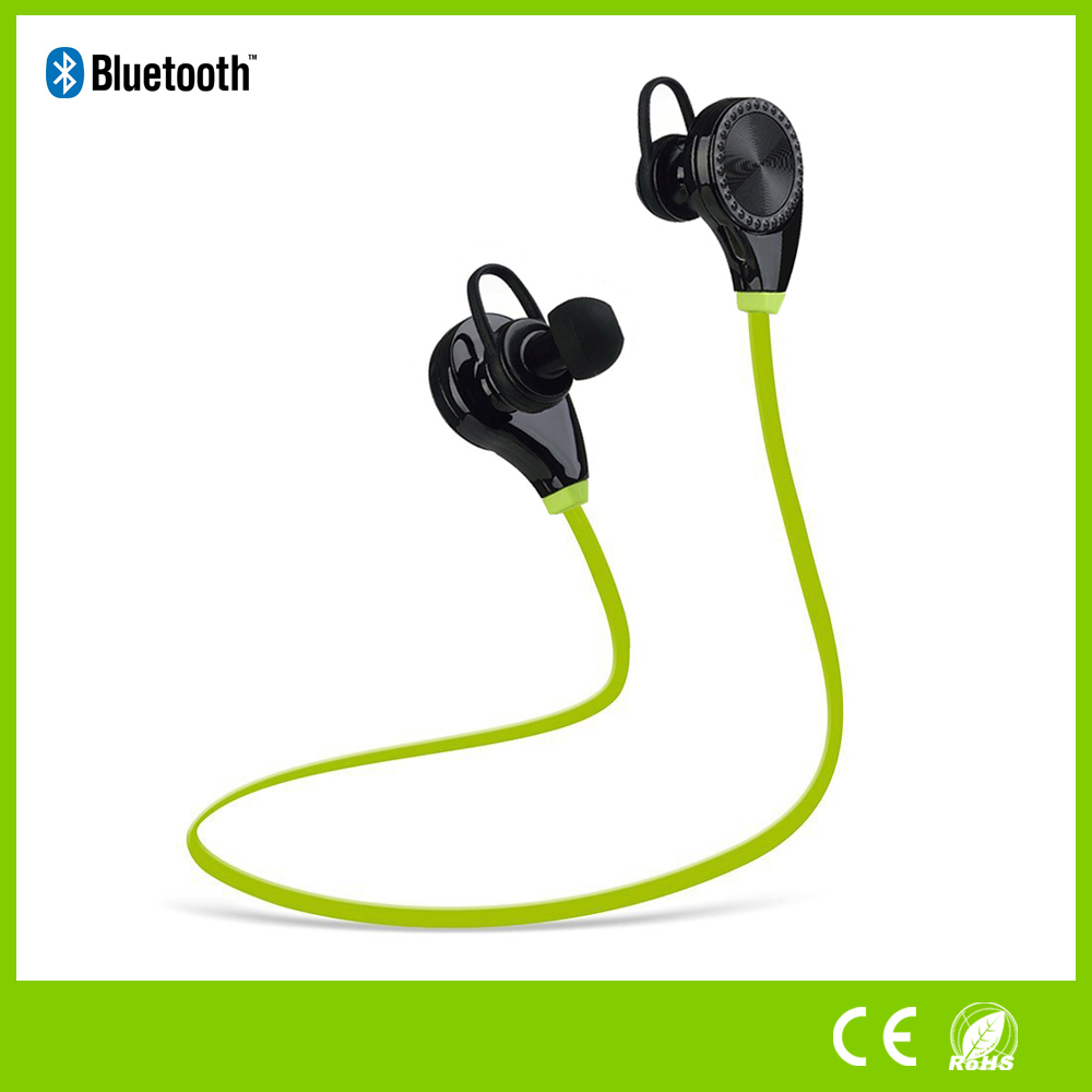 Wireless Bluetooth Sport Earbuds Light weight Noise Cancelling Headphone With Mic And Volume Control Compatible With Any Bluetoo