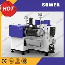 Horizontal Bead Mill (sand mill) for coating,ink,color paste,pesticide.Nano effect