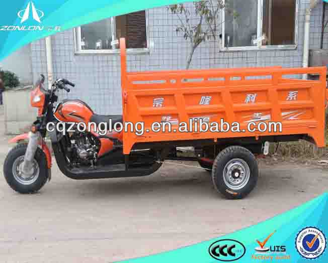Hot China motorized flatebed trike for sale