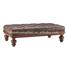 moroccan leather pouf ottoman footstool furniture HDOT127