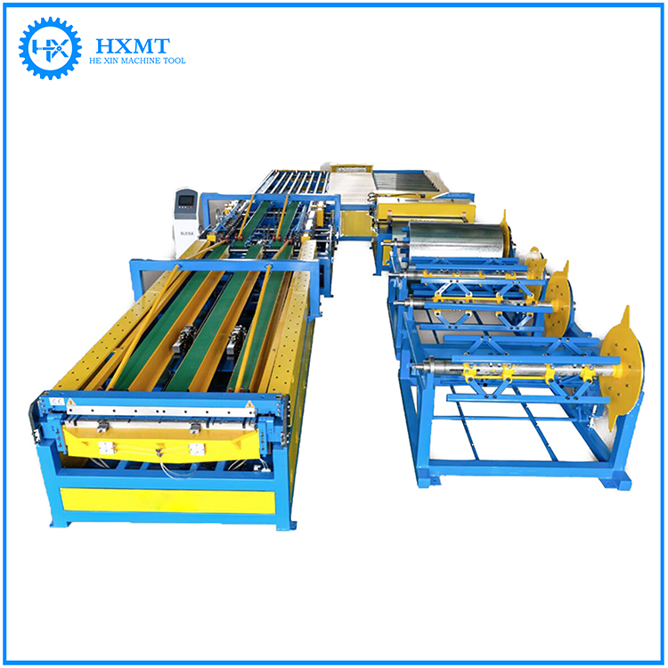 Excellent accuracty square tube making machine,ventiduct producing autoline,air duct u shape auto line 5