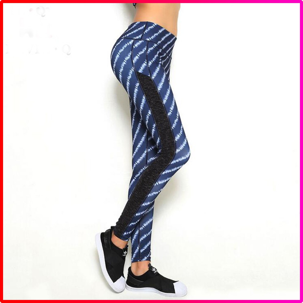 Wholesale Women Printed Fitness Yoga Sports Hot Sexy Leggings for Grils