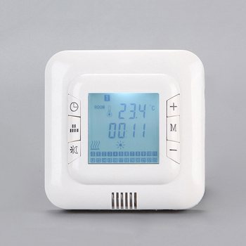 Low price weekly programming lcd heating built-in type thermostat