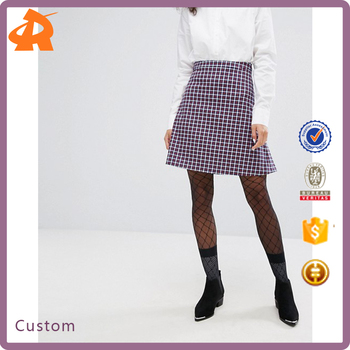 custom made your short skirt no underwear,hot selling short skirt manufacturer in china