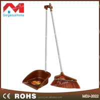 Hot selling new pp stainless steel durable dustpan and broom
