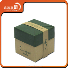 eco custom made cheap empty paper gift box made in china
