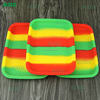 Factory wholesale rolling tray kit silicone rolling tray stash box and glass rolling tray for dry herbs / cigarettes