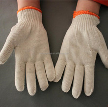 COTTON KNITTED GLOVES WHITE BEST PRICE