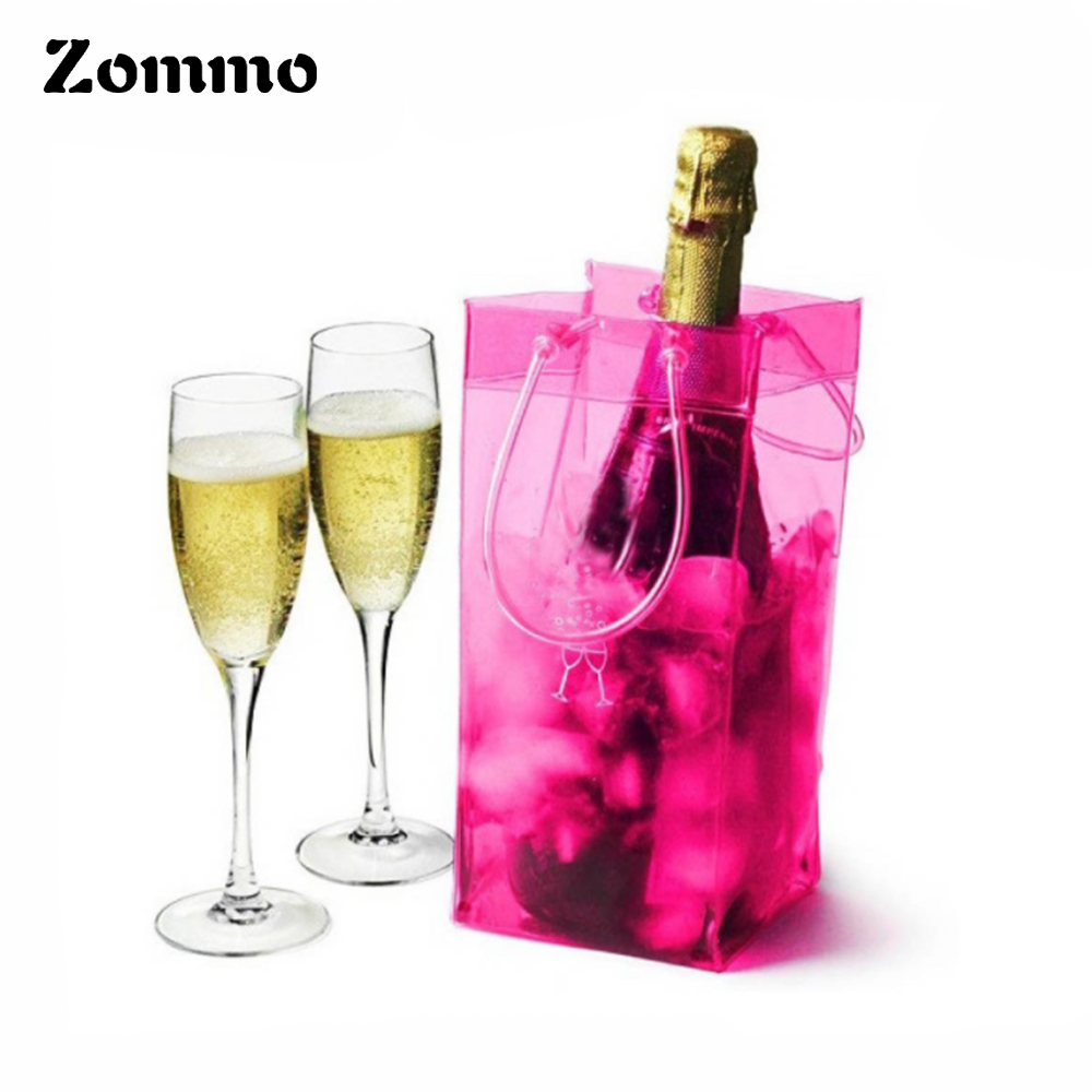 Christmas PVC Wine Bottle Ice Cooler Bag