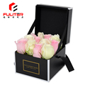 Black and white design cardboard unique preserved rose packaging box