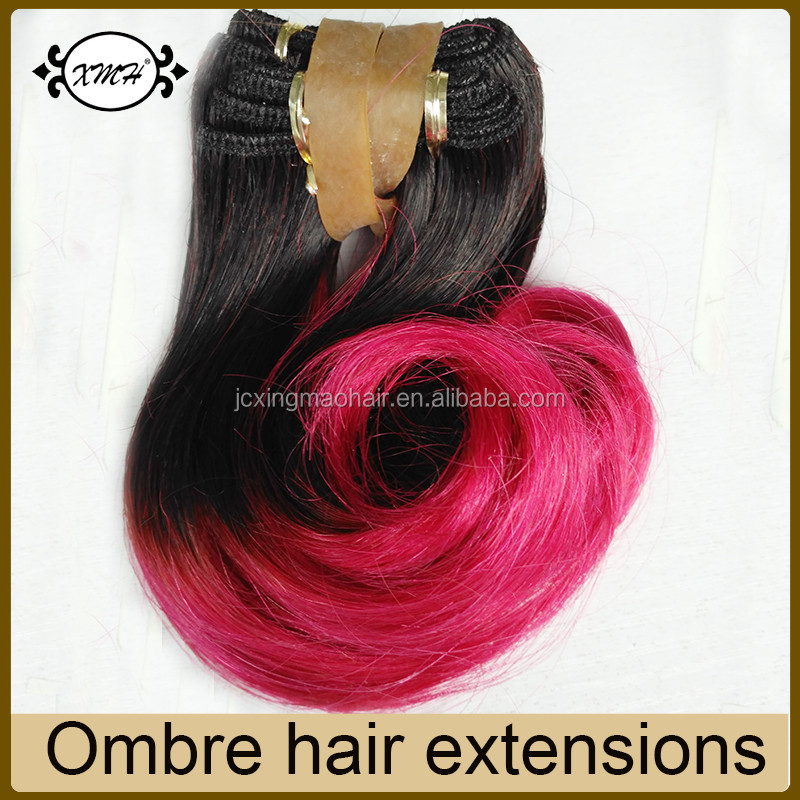 ombre color 1b pink hair weave.jpg