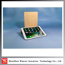 New arrival for iPad Air 2 case, factory price transformer folding smart tablet cover easy touch for apple ipad