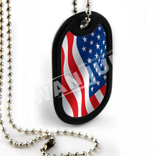Cheap Suppliers Country Flag Dog Tags For Men