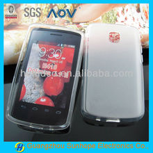 soft useful tpu matte case for LG E410 L1 II