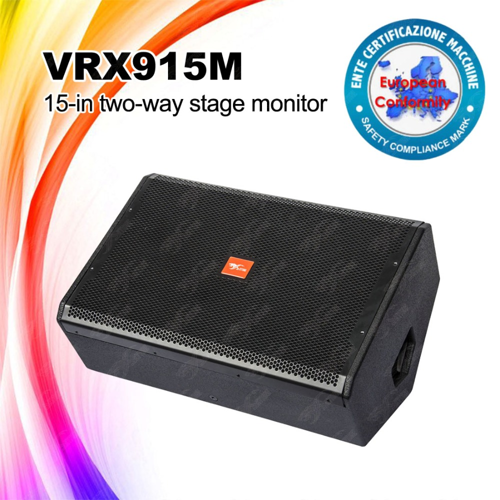 Stage Monitor 15 inch speakers professional audio sound speaker