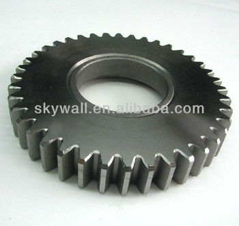 OEM durable high smoothness steel spur gear