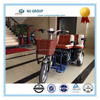 three wheeler for passenger with two seats
