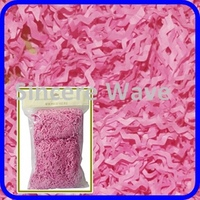Pink Crinkled Paper/ tissue paper stuffer confetti/Paper Shred