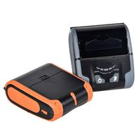 IMP013 2 inch 3 inch Hot Sell Thermal Printer In Black And Orange Color