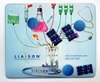 Promotional item PVC approved liquid and floaters filled creative printed Mouse Pad