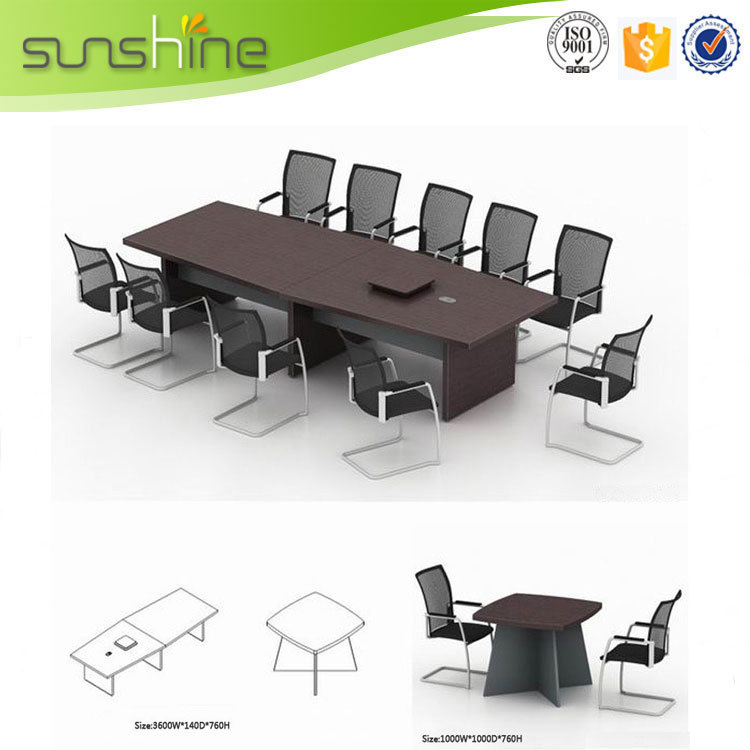 Sunshine Brand Office Furniture Conference Room Table For Meeting - 4 person conference table