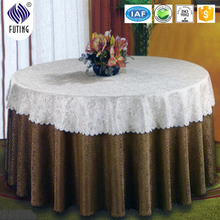 banquet antimacassar /table cloth with jacquard design
