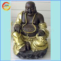 laughing sitting fiberglass buddha mold with best price