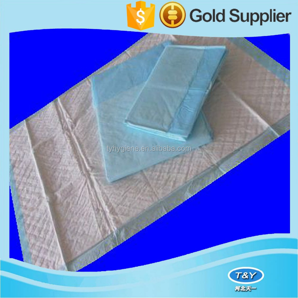 New products medical supplier super absorbent disposable hospital underpad for adults