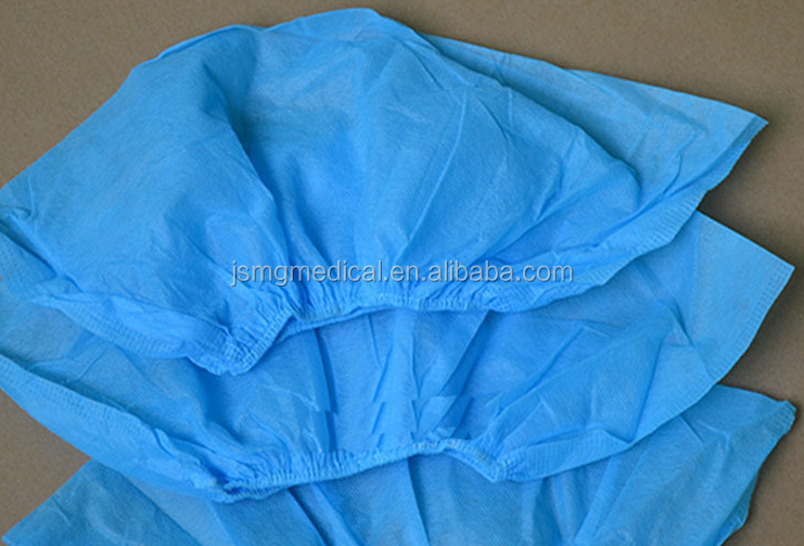 Disposable Nonwoven / PP / CPE / PP+PE / PE plastic shoe cover