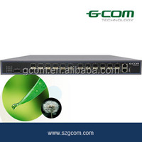 24-port SFP Switch GCOM S6300 SeriesAll10GE Ethernet Switch