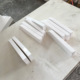 Cultured Marble Bathroom Curved Wall Mount Shampoo Shelves