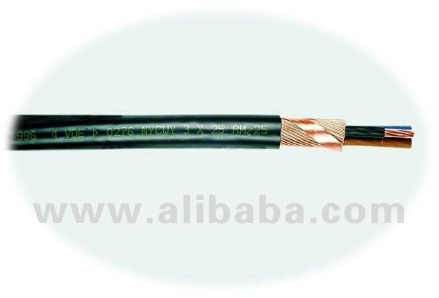 Low Voltage Cable 0,6/1 kV (NYCWY)