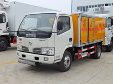 4x2 dongfeng 3mt-5mt fireworks delivery truck