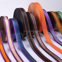 guangzhou factory wholesale cotton/nylon/elastic/polyester jacquard ribbon/webbing