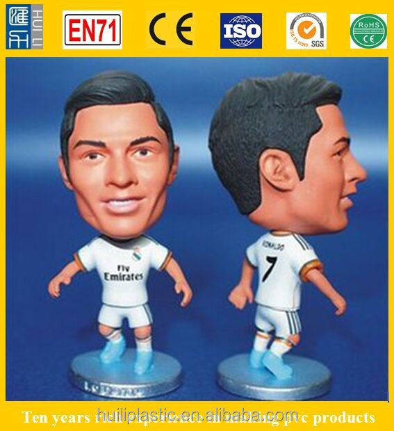 realist soccer toy action figure, teams soccer stars action figure, promotion 3d soccer action figures player