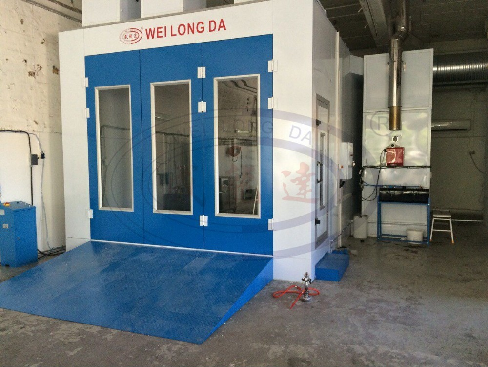 WLD8400 Paint Spray Booth/High Quality Automotive Car Paint Cabin