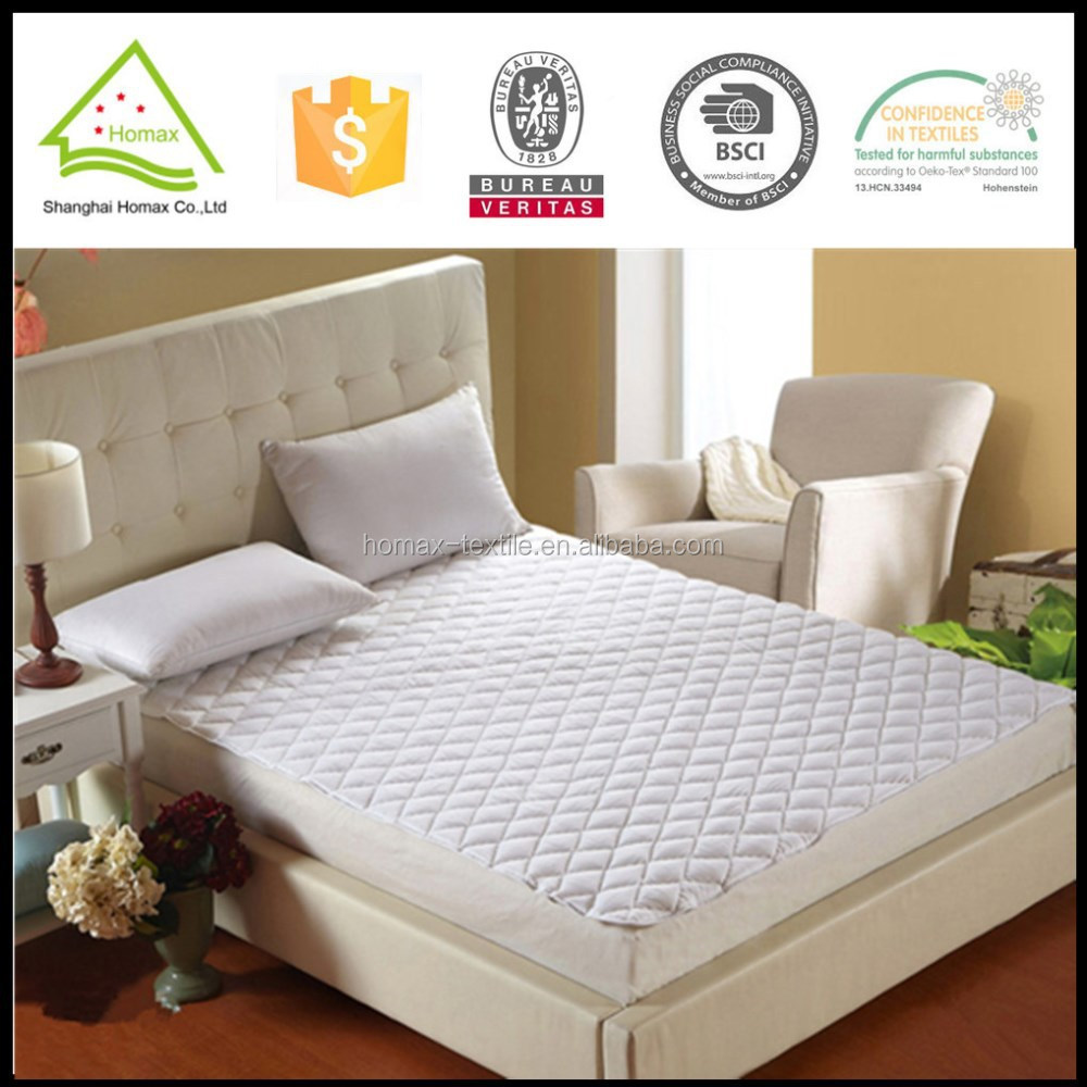 Diamond quilted waterproof fabric for mattress protector