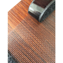 Popular Fireproof Material Fly Protection Plain Weave Plastic Magnetic Screen For Windows
