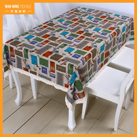 Hot Sell England Style Printed Rectangle Home Decor Banquet Used Tablecloths For Sale