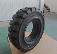 7.00-12 White Non-marking Industrial Rubber Forklift Solid Tyre