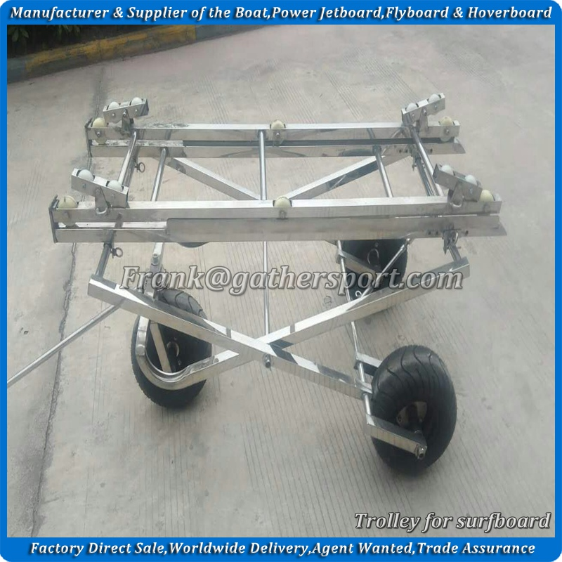 Gather oem jet powered surfboard trolley,trailer for sale
