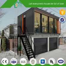 Unique design cool box shape fireproof shipping container prefabricated shops stores