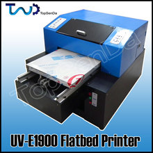 2015 New Digital Flatbed a3 size ECO Solvent Printer