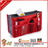 Portable wholesale folding cosmetic organizer for travel make up organizer with many pockets