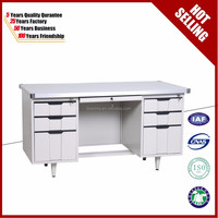 Modern Furniture Used Stainless Steel Office Table / Metal Office Desk